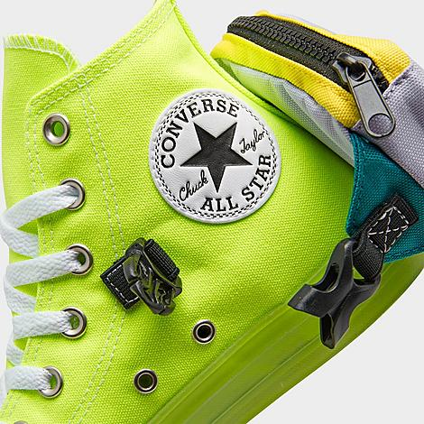 Men's Converse Chuck Taylor All Star Neon Jelly Buckle Up High Top ...