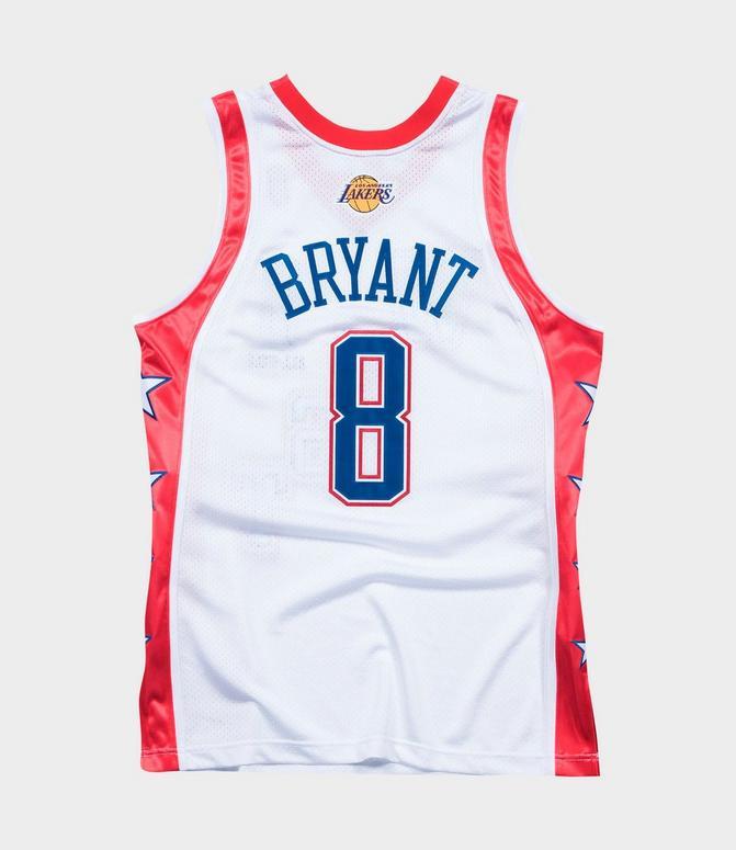 Men's Mitchell & Ness Kobe Bryant NBA All-Star West 2004 Authentic ...