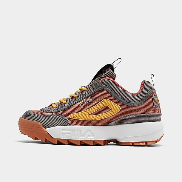 Men's Fila Disruptor Corduroy Casual Shoes