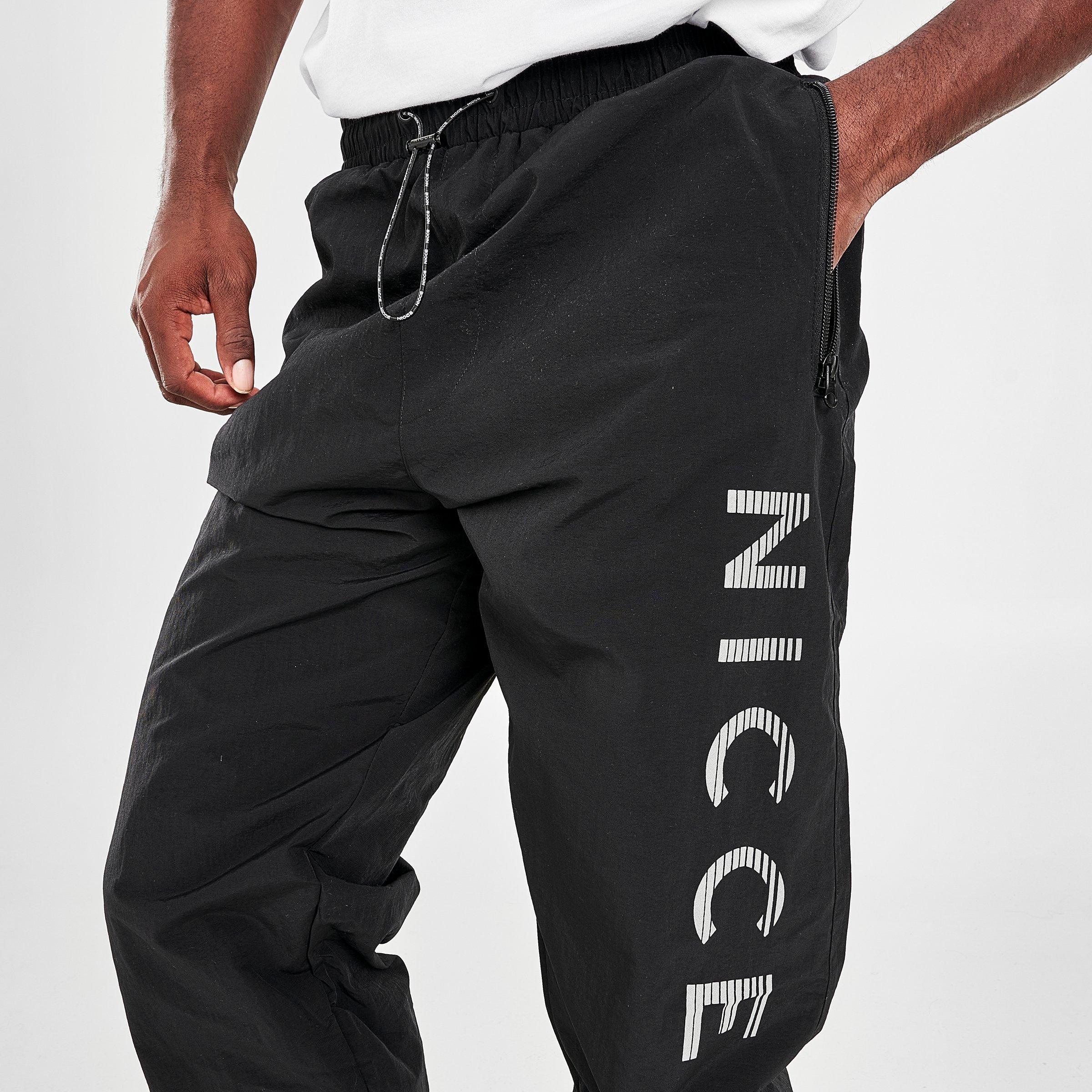 Nicce Mens Race Shorts-Black//Reflective