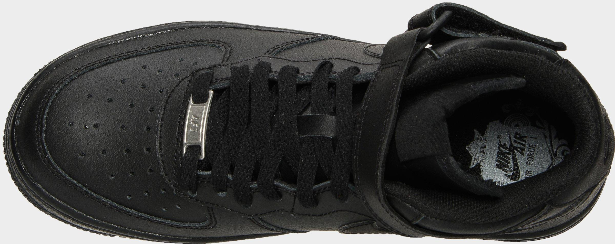 air force 1 mid all black