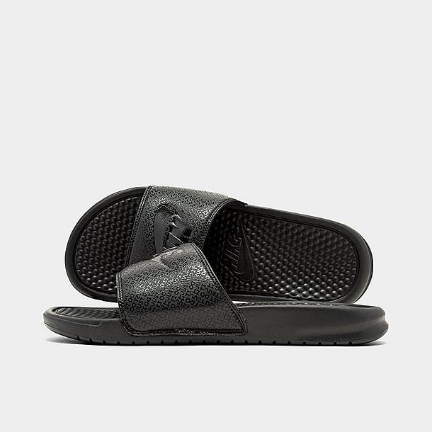 new arrivals new collection purchase cheap Men's Nike Benassi JDI Slide Sandals| Finish Line