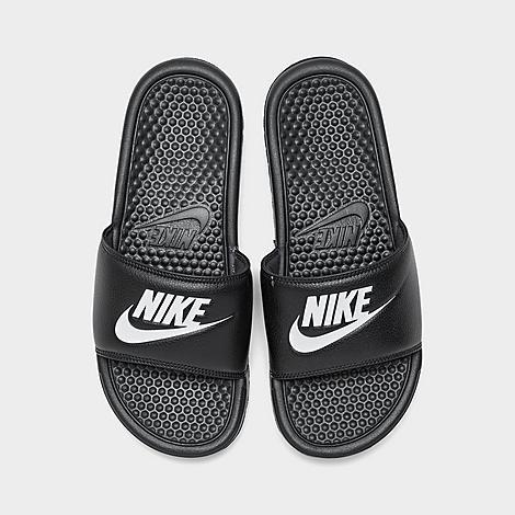 acoplador A fondo para castigar  Men's Nike Benassi JDI Slide Sandals  Finish Line