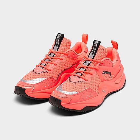 Women's Puma Rise Neon Casual Shoes| Finish Line