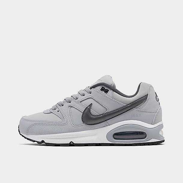 nike air max command grey leather