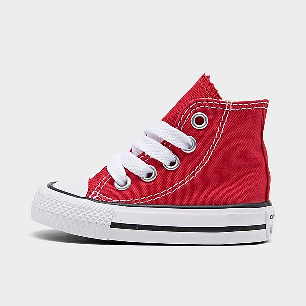 NEW INFANT TODDLER CONVERSE CHUCK TAYLOR ALL STAR HI RED 7J232 ORIGINAL SO CUTE