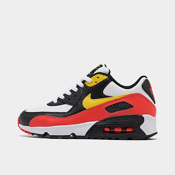 best supplier 50% off high fashion Big Kids' Nike Air Max 90 Leather Casual Shoes| Finish Line