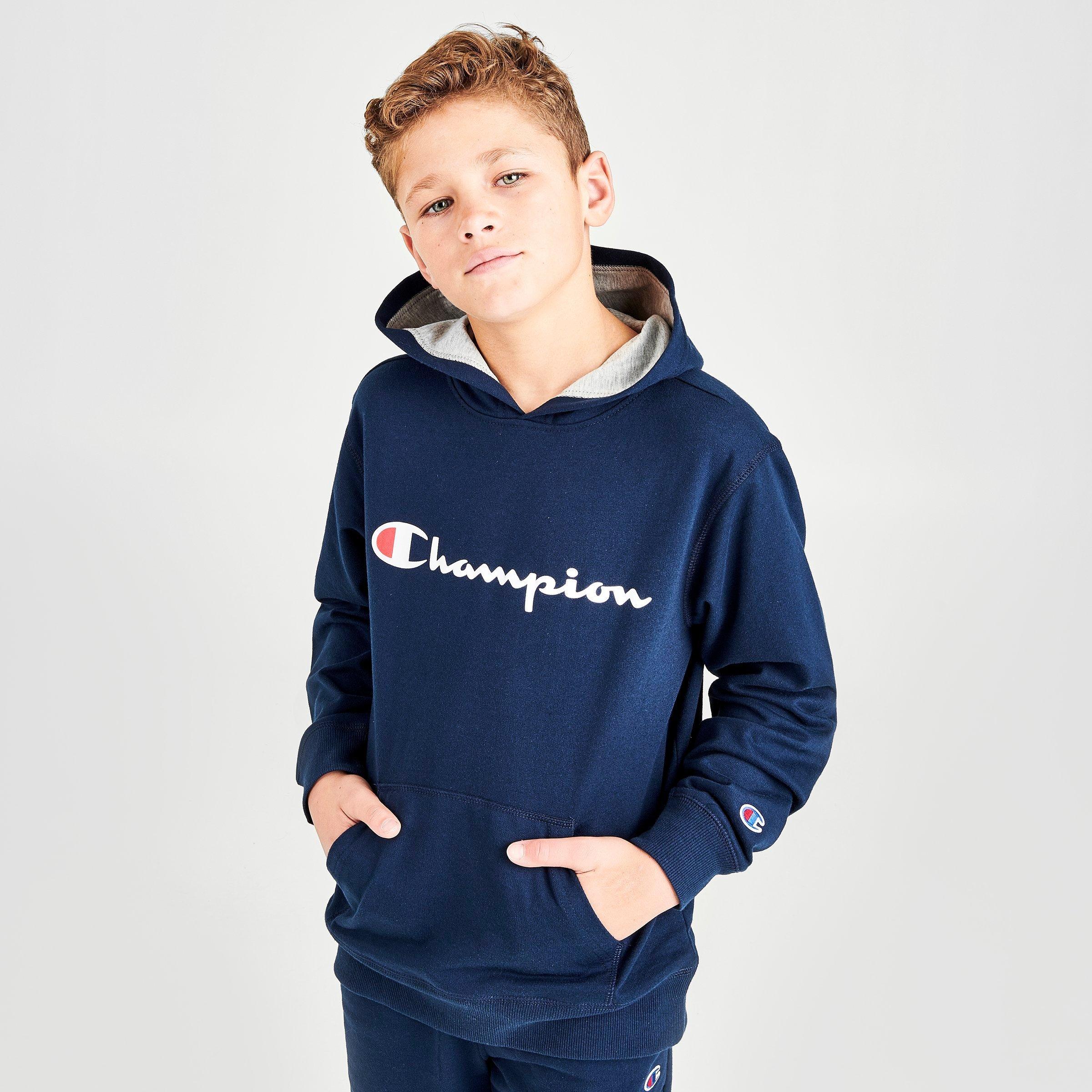 champion hoodie kids