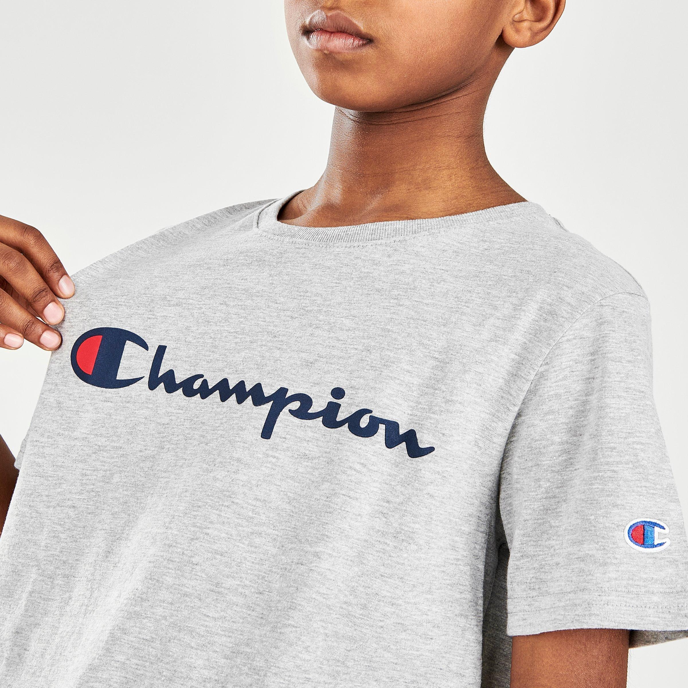 CHAMPION BOYS AOP SHIRT SIZE  4 5 6 NEW!