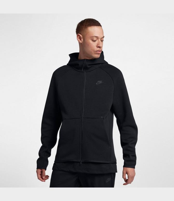 nike fleece full zip hoodie