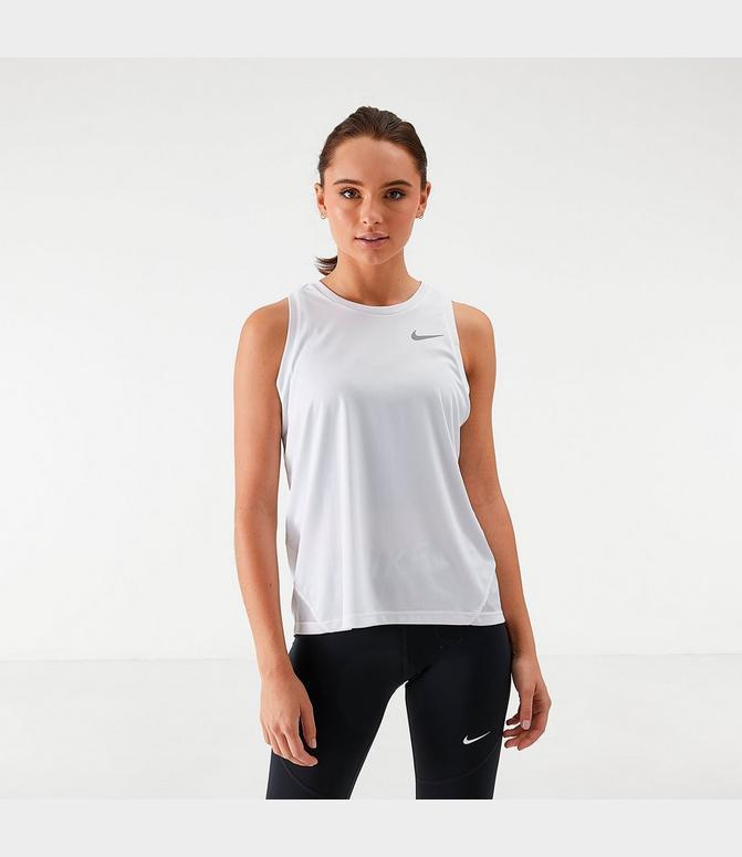 En respuesta a la Asombro Ventilación  Women's Nike Miler Running Tank  Finish Line