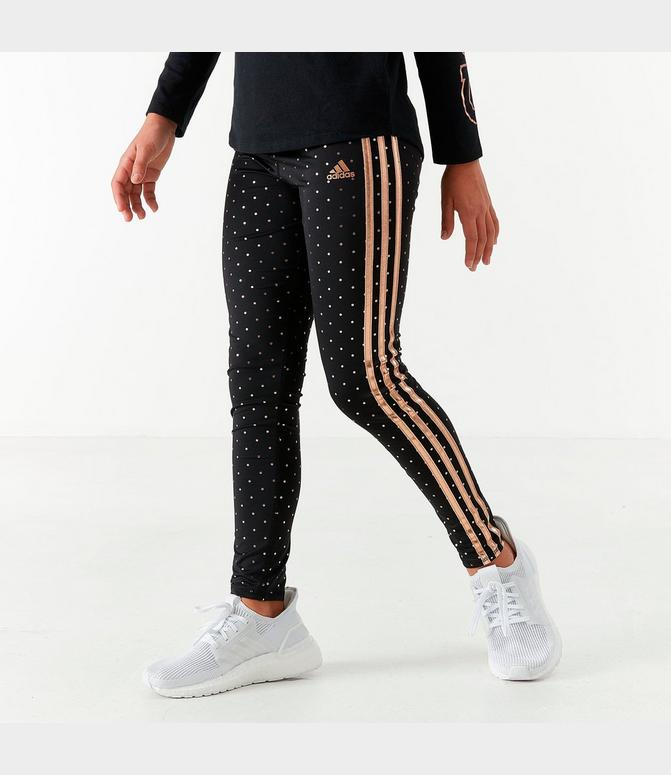 adidas leggings gold