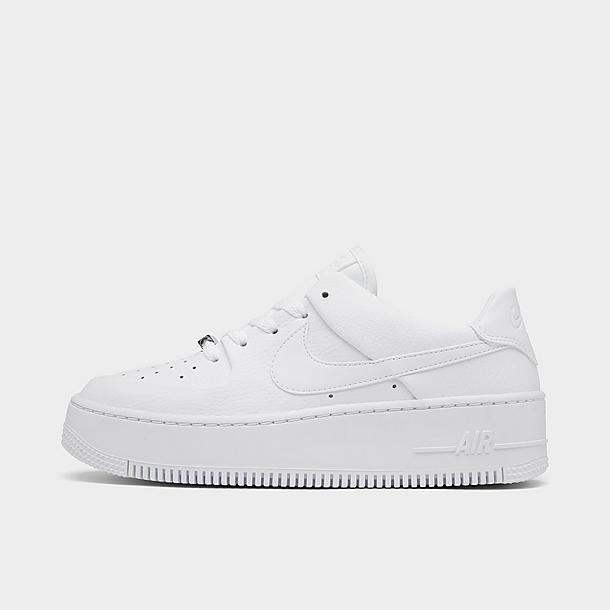 nike air force 1 sage low blanche