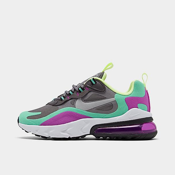 Girls Big Kids Nike Air Max 270 React Casual Shoes Finish Line