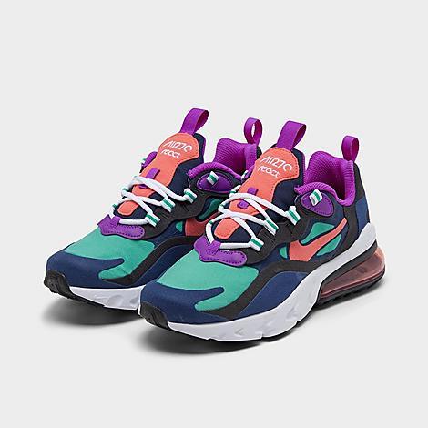 Girls Big Kids Nike Air Max 270 React Se Casual Shoes Finish Line