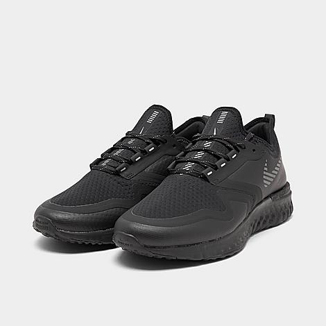 Men/'s Nike Odyssey React 2 Shield Running Shoes Black//Metallic Silver BQ1671 001