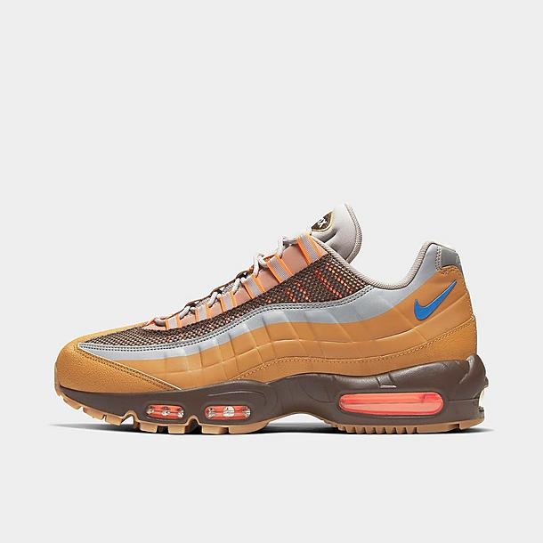 men's nike air max 95 se jdi casual shoes orange