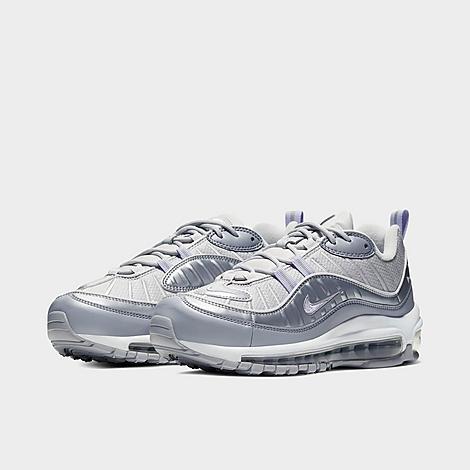 Women's Nike Air Max 98 SE Metallic Casual Shoes| Finish Line