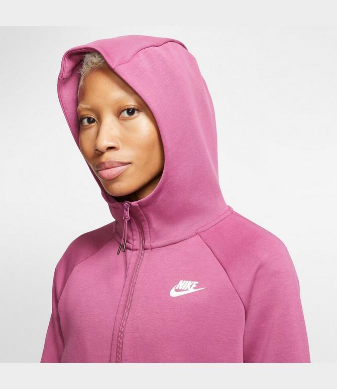 Women S Nike Sportswear Tech Fleece Cape Hoodie Finish Line