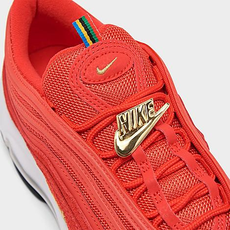 men's nike air max 97 casual shoes red