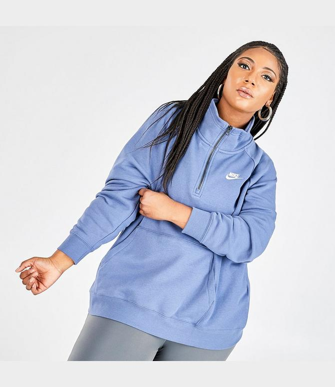 nike quarter zip fleece