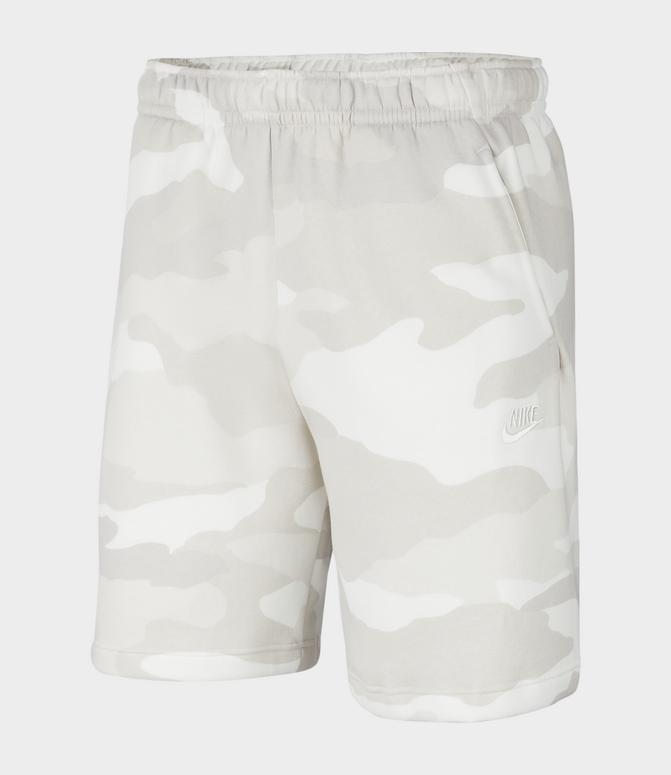 Nike Men/'s Club Fleece Shorts Size Large Light Khaki Sportswear Standard Fit New