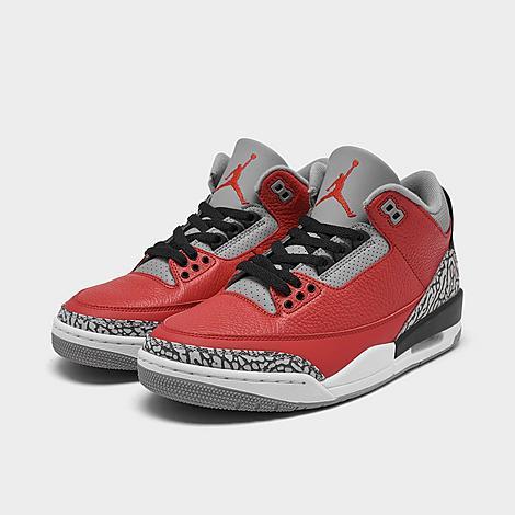 Men's Air Jordan Retro 3 SE Low Basketball Shoes