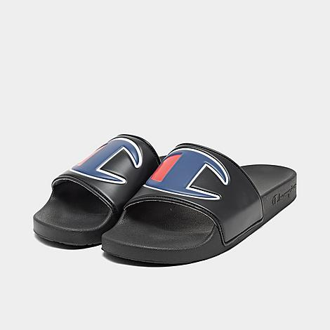 CM100073M Men/'s Champion IPO Slide Sandals Black
