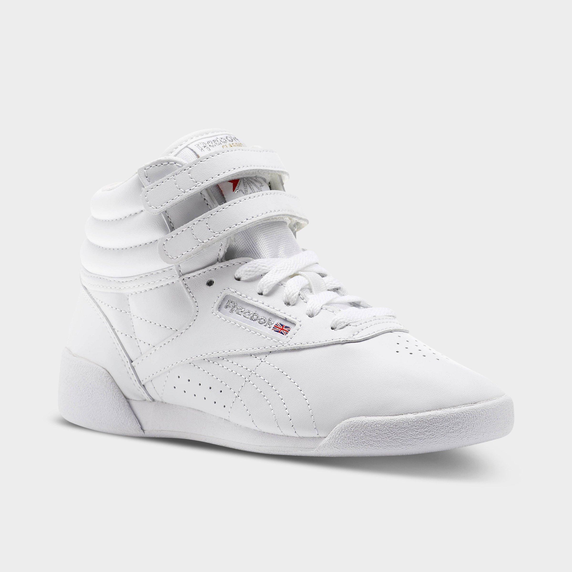 Nouveau Reebok Filles Chaussures De Loisirs Enfants Freestyle Hi Wool Grade School Sneakers