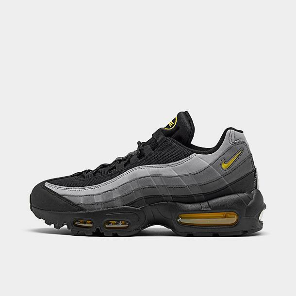 black and yellow nike shoes air max