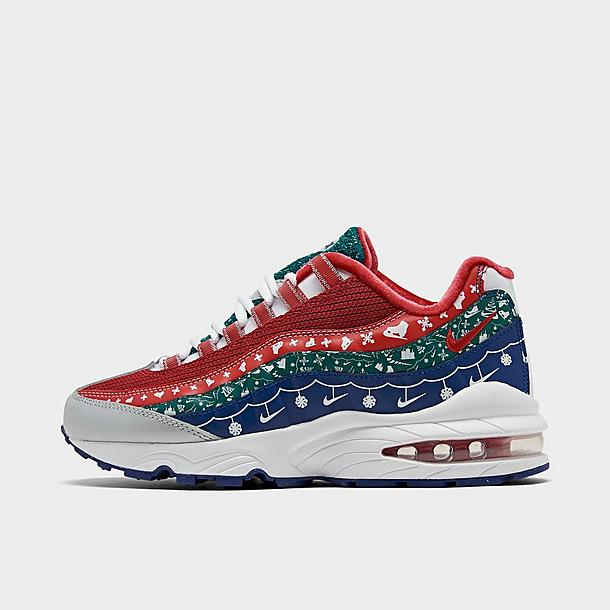 Big Kids Nike Air Max 95 Ugly Sweater Casual Shoes Finish Line