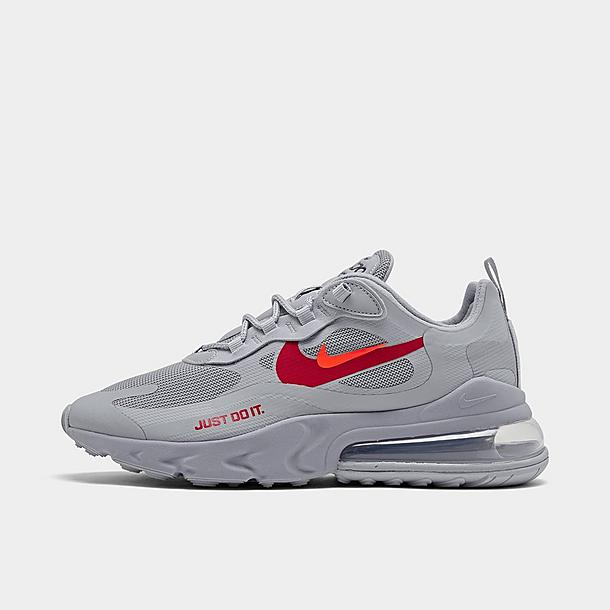 air max 270 react wolf grey red
