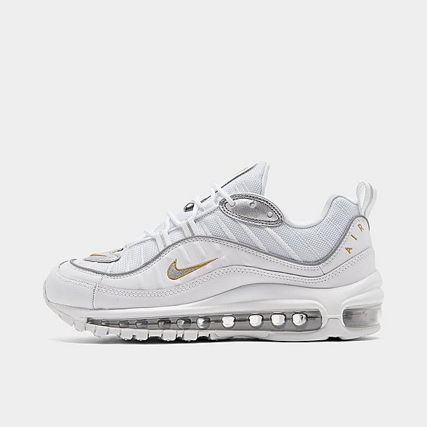 Women S Nike Air Max 98 Metallic Casual Shoes Finish Line