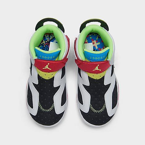 Kids' Toddler Air Jordan Retro 6 Little Flex Basketball Shoes