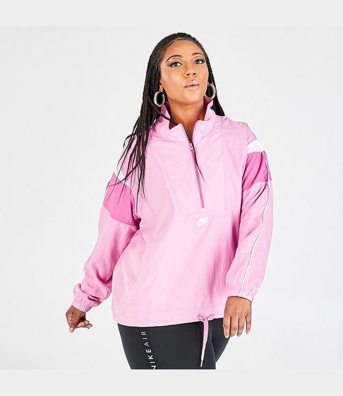 cocodrilo cargando Frente a ti  Women's Nike Sportswear Woven Heritage Wind Jacket (Plus Size)  Finish Line
