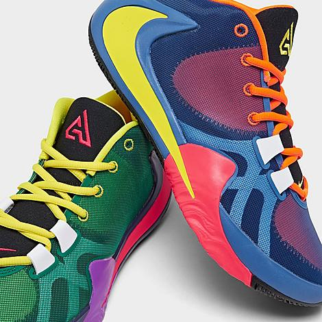 Men's Nike Zoom Freak 1 Multi Basketball Shoes