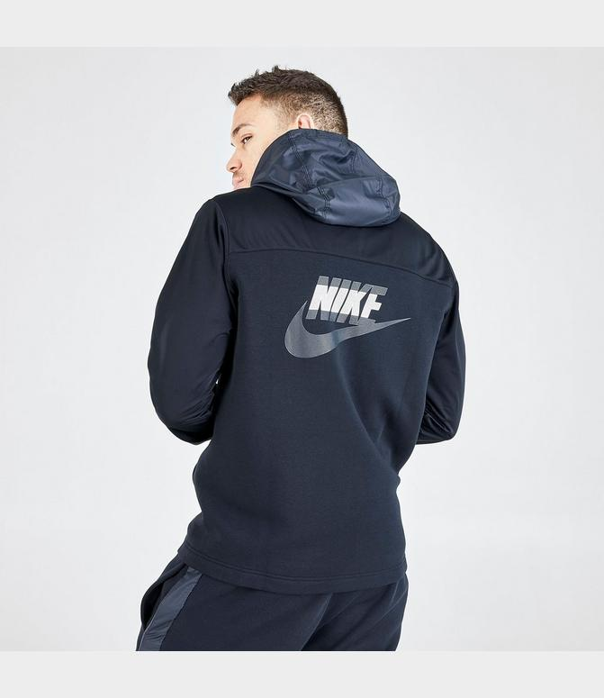 adidas originals tape fleece full zip hoodie