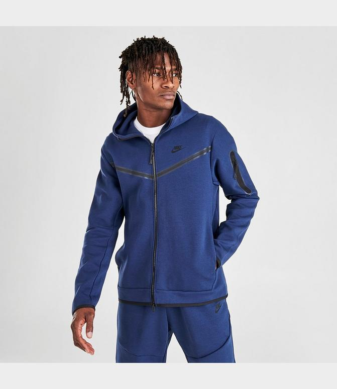 Nike Sportswear Tech Fleece Taped Full Zip Hoodie Finish Line