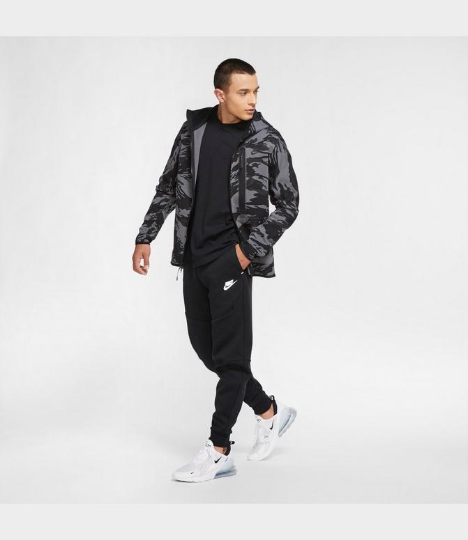 Men S Nike Sportswear Reflective Tech Fleece Jogger Pants Finish Line