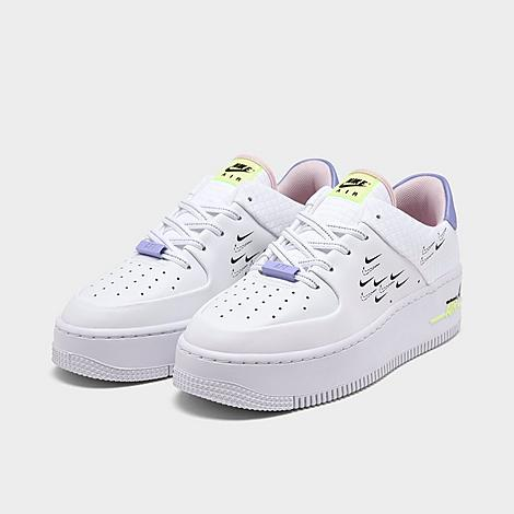 air force one sage low blanche femme