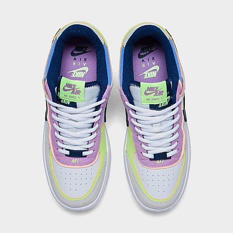 Women S Nike Air Force 1 Shadow Se Casual Shoes Finish Line The nike air force 1 shadow delivers versatility in its stylishly distinctive design that allows you to rock this pair on various occasions with a wide variety of outfit ideas. nike air force 1 shadow se casual shoes