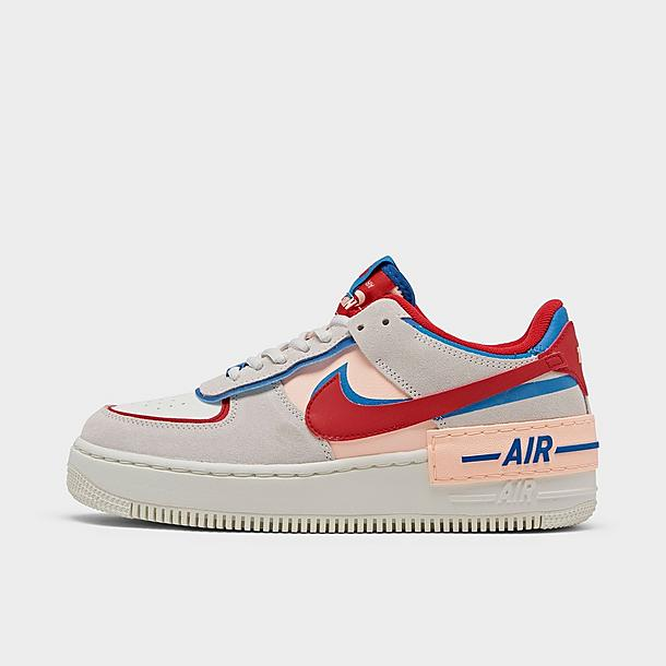 Women S Nike Air Force 1 Shadow Se Casual Shoes Finish Line Nike's new 'shadow' range is inspired by women who are forces of change, updating several familiar styles with practical and cool details. women s nike air force 1 shadow se casual shoes