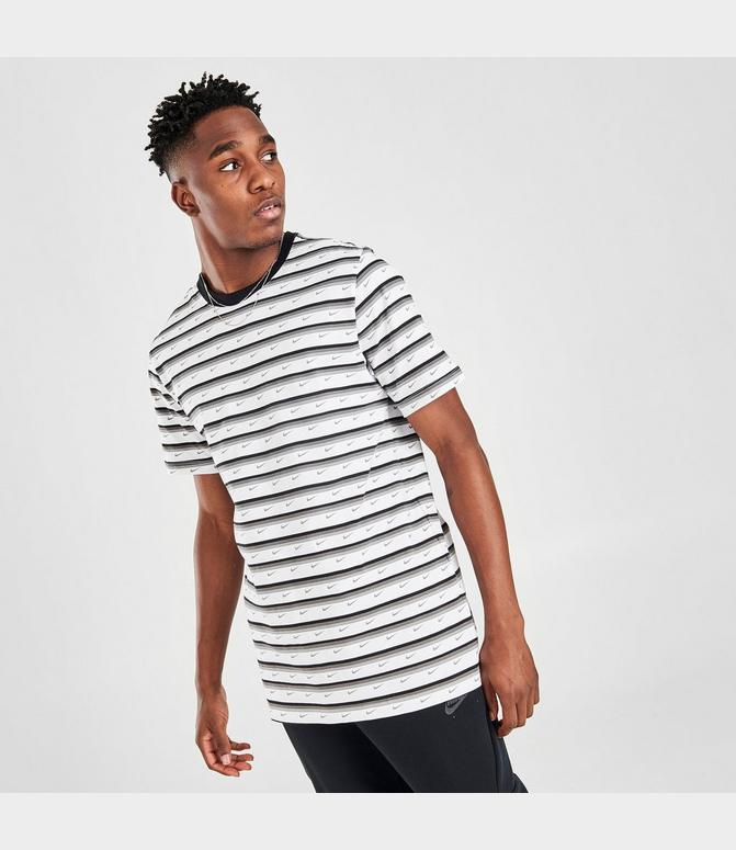 perjudicar Continente Megalópolis  Men's Nike Sportswear Club Stripe T-Shirt| Finish Line