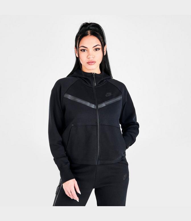 Discutir Sacrificio Definitivo  Women's Nike Sportswear Tech Fleece Windrunner Full-Zip Hoodie| Finish Line