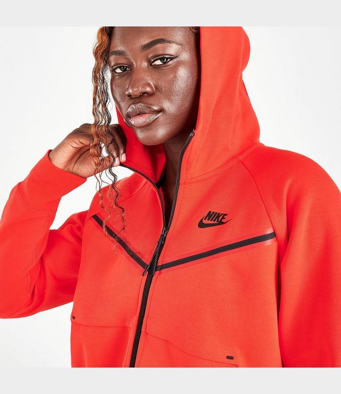 Women S Nike Sportswear Tech Fleece Windrunner Full Zip Hoodie Finish Line