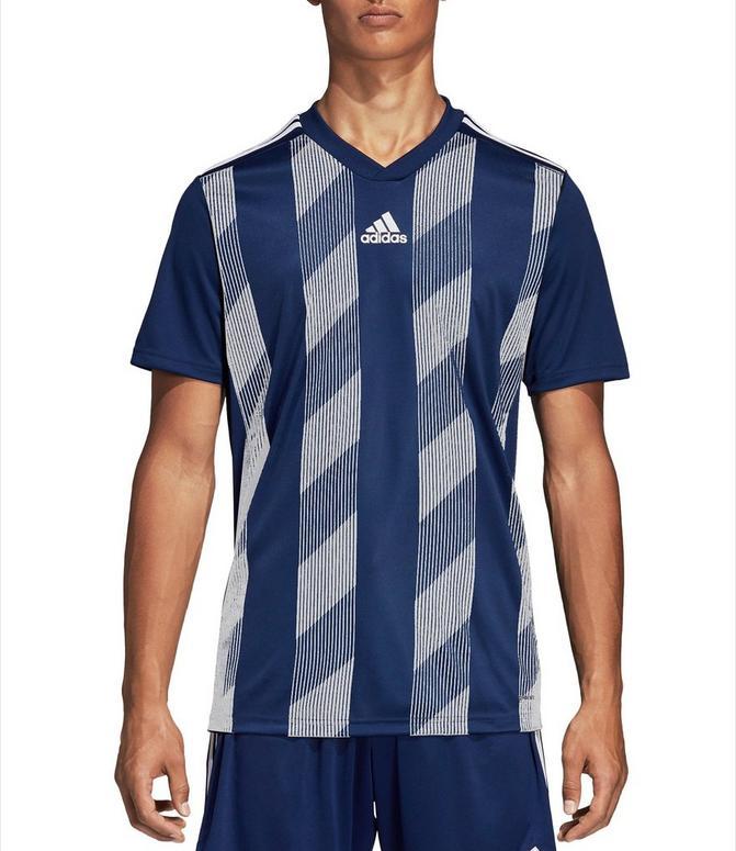 Men's adidas Striped 19 Jersey T-Shirt  Finish Line