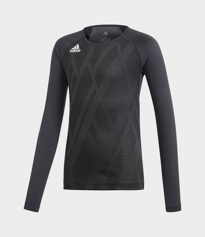 Girls' adidas Quickset Long-Sleeve Volleyball Jersey