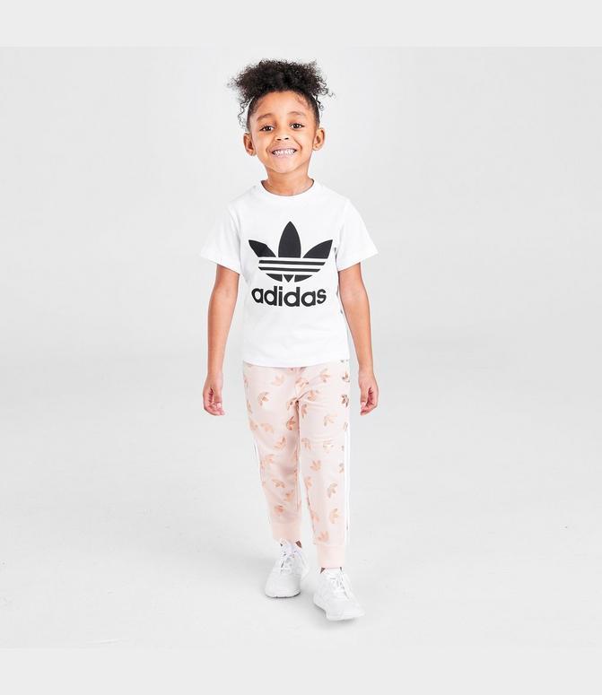 Kids' Infant and Toddler adidas Originals Trefoil T-Shirt  Finish Line
