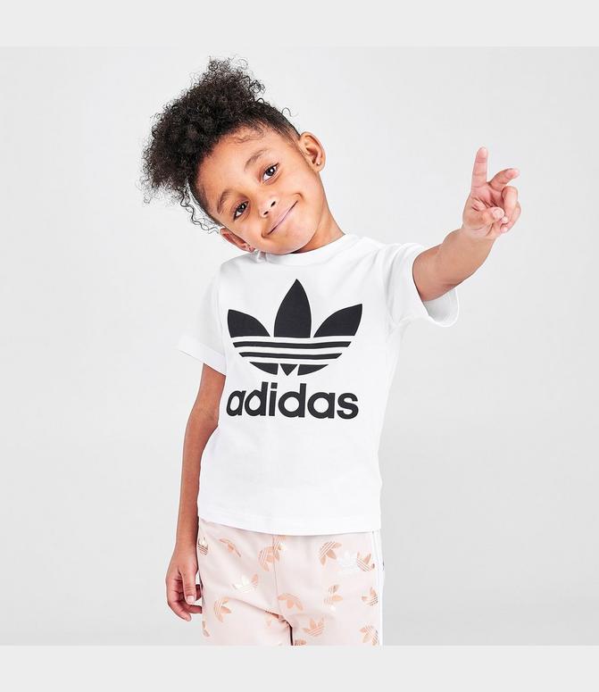 Kids' Infant and Toddler adidas Originals Trefoil T-Shirt| Finish Line