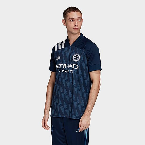 Men's adidas New York City FC Away Soccer Jersey| Finish Line